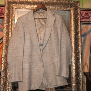 Other - Gray men's blazer custom made